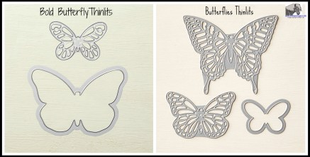 Butterfly Thinlit Types