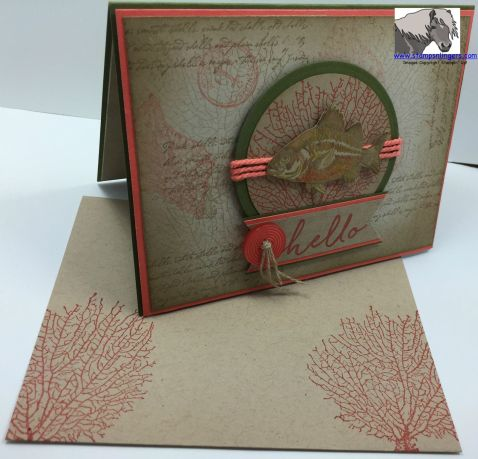 Hello Fish SSSC 279 Card and Envelope 2 watermarked