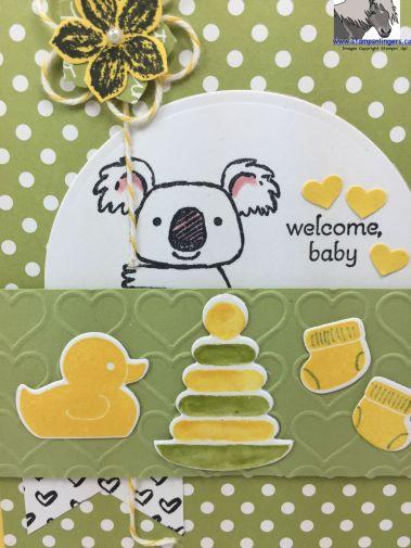Koala Welcome Baby SSSC 278 Outside closeup watermarked