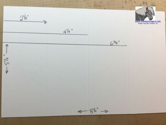 Tunnel Card Tutorial Score lines watermarked