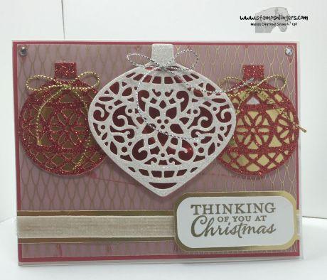 Embellished Ornaments 1 - Stamps-N-Lingers