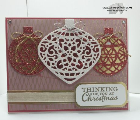 Embellished Ornaments 1 - Stamps-N-Lingers