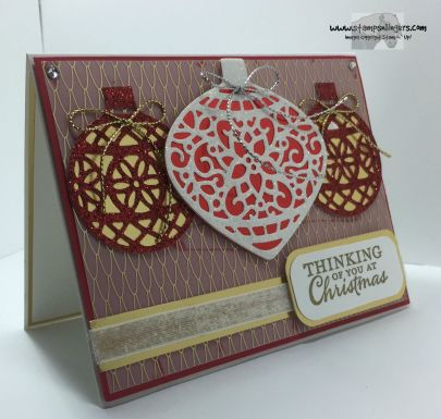 Embellished Ornaments 2 - Stamps-N-Lingers