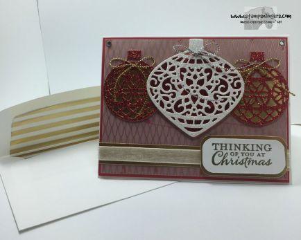Embellished Ornaments 5 - Stamps-N-Lingers