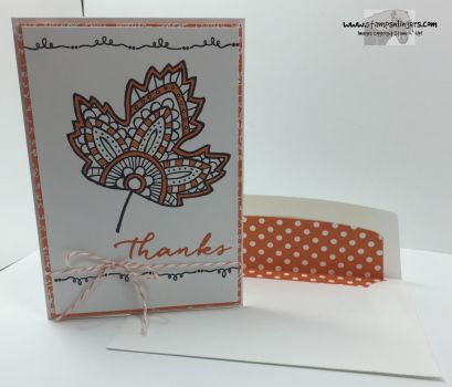 Lighthearted Leaves Thanks 5 - Stamps-N-Lingers
