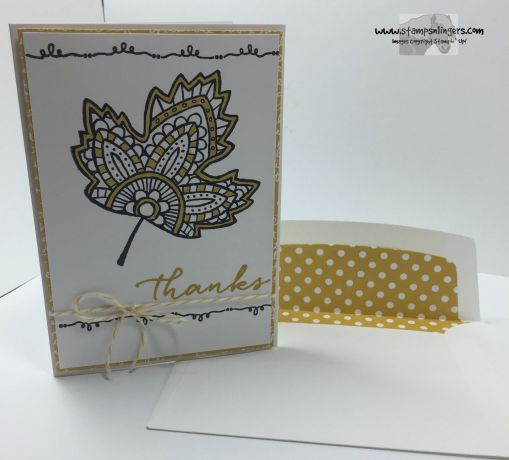 Lighthearted Leaves Thanks 6 - Stamps-N-Lingers