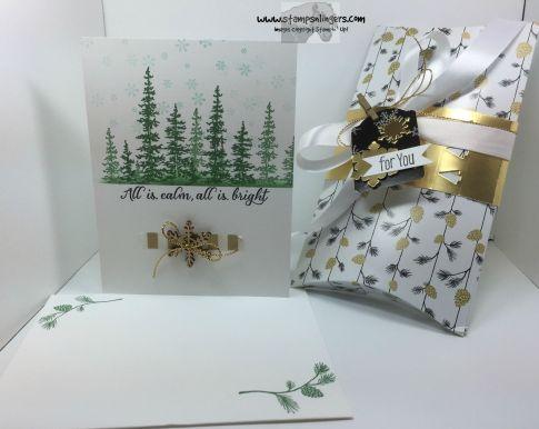 Wonderland and Pillow Box Thinlits