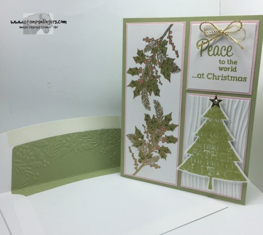 Peaceful Wreath Peaceful Pines 7 - Stamps-N-Lingers