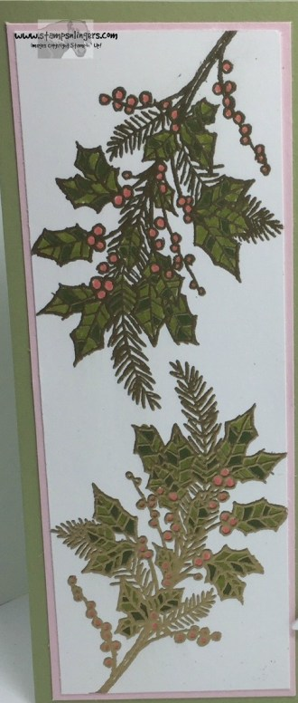 Peaceful Wreath Peaceful Pines 8 - Stamps-N-Lingers