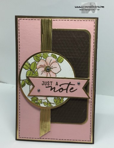 Sweetbriar Rose Just a Note 4 - Stamps-N-Lingers