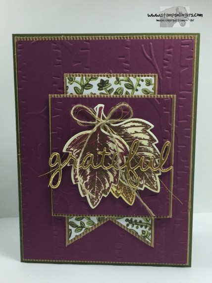 Vintage Leaves Seasonal Frame 4 - Stamps-N-Lingers