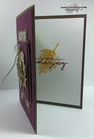 Vintage Leaves Seasonal Frame 6 - Stamps-N-Lingers