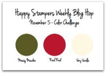 5 Nov Happy Stamper Blog Hop challenge