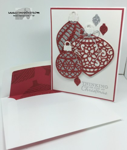 Delicate Embellished Ornaments 6 - Stamps-N-Lingers