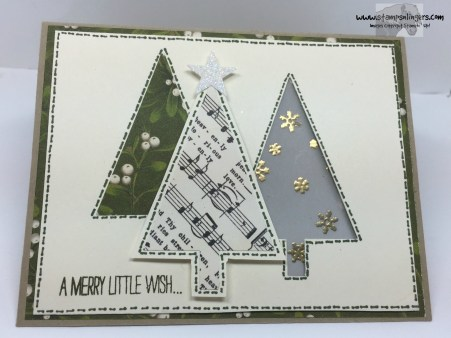 Festival of Trees Fun Fold 1 - Stamps-N-Lingers