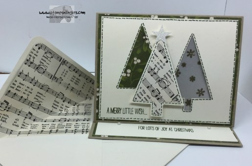 Festival of Trees Fun Fold 10 - Stamps-N-Lingers