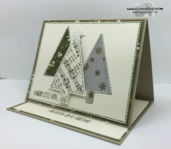 Festival of Trees Fun Fold 7 - Stamps-N-Lingers