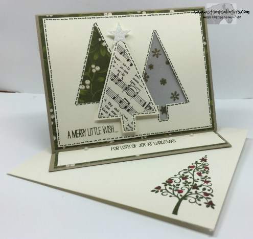 Festival of Trees Fun Fold 8 - Stamps-N-Lingers