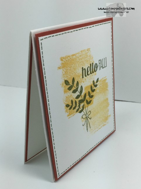 For All Things Super Simple Card 2 - Stamps-N-Lingers