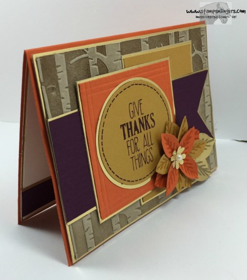 Give Thanks For All Things 2 - Stamps-N-Lingers