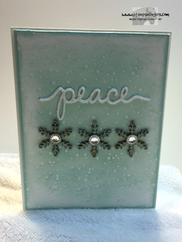 Holly Jolly Peace 1 - Stamps-N-Lingers