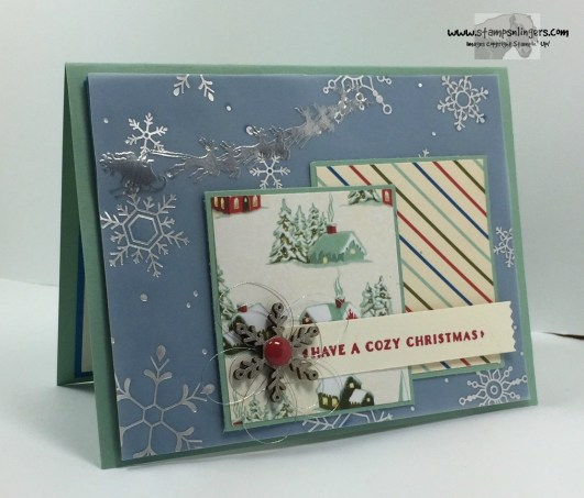 Home for Cozy Christmas 1 - Stamps-N-Lingers
