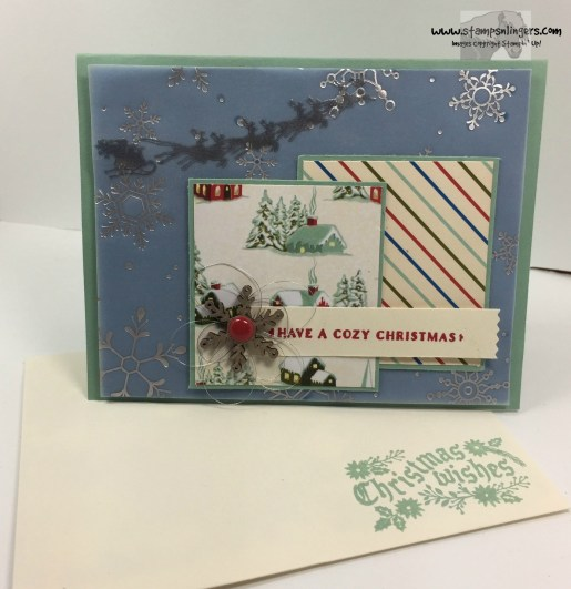 Home for Cozy Christmas 6 - Stamps-N-Lingers