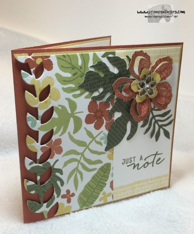 Just a Botanical Note 2 - Stamps-N-Lingers