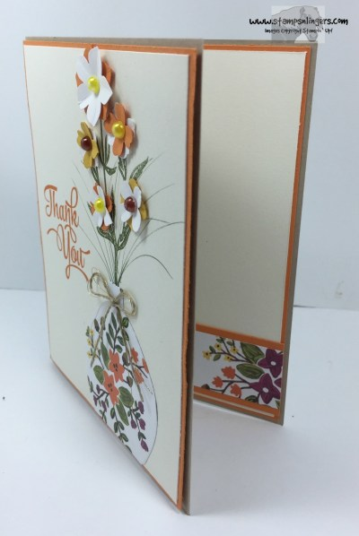One Big Meaning Flower Vase 2 - Stamps-N-Lingers