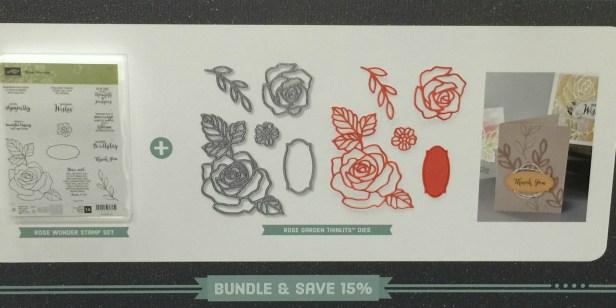 Rose Wonder and Rose Garden Bundle - Stamps-N-Lingers