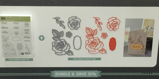 Rose Wonder and Rose Garden Bundle - Stamps-N-Lingers