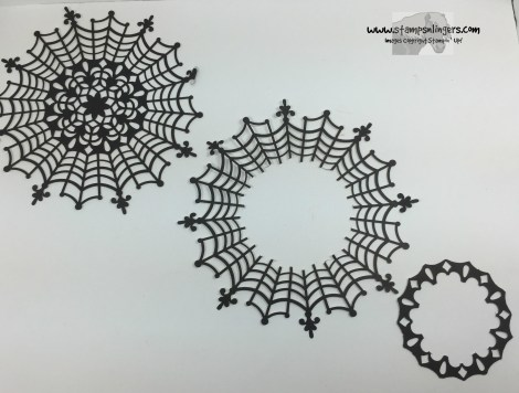 Spider Web Doily Cuts - Stamps-N-Lingers