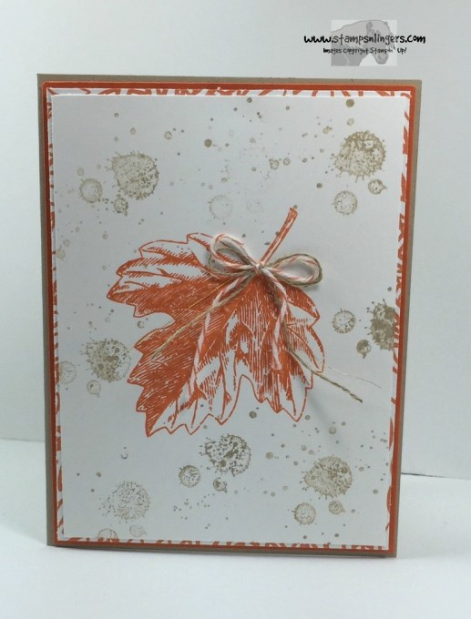 Vintage Leaves One Big Meaning 1 - Stamps-N-Lingers