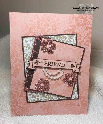 Bloomin' Love Friend Birthday 2 - Stamps-N-Lingers