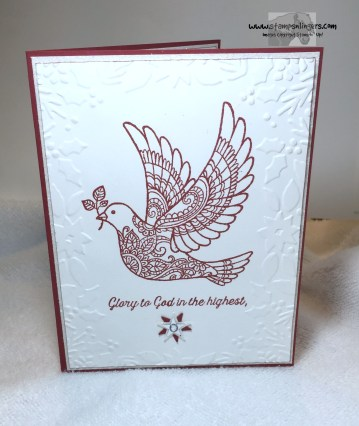Dove of Peace Super Simple 1 - Stamps-N-Lingers