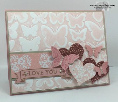 Fluttering Love Blossoms 1 - Stamps-N-Lingers