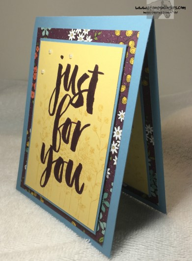 Just For You Botanical 3 - Stamps-N-Lingers