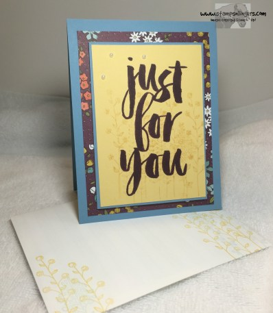Just For You Botanical 5 - Stamps-N-Lingers