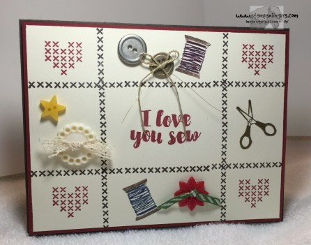 Love You Sew 4 - Stamps-N-Lingers