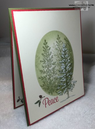 Lovely as a Tree Peace 1 - Stamps-N-Lingers