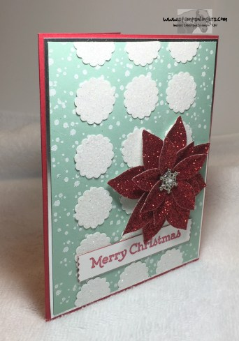 Versatile Christmas Poinsettia 2 - Stamps-N-Lingers