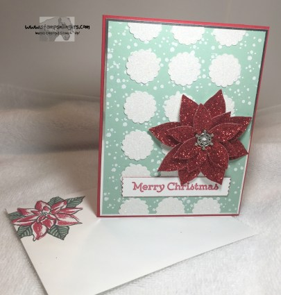 Versatile Christmas Poinsettia 6 - Stamps-N-Lingers