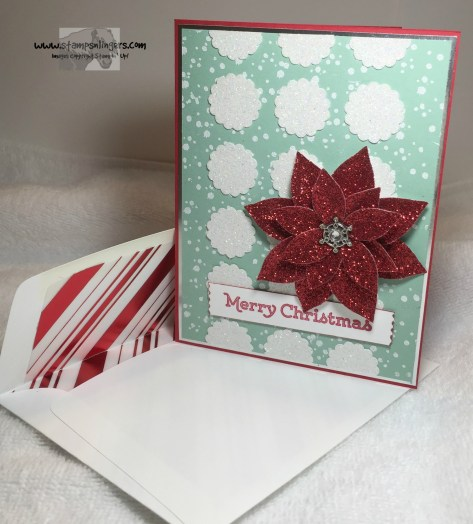 Versatile Christmas Poinsettia 7 - Stamps-N-Lingers