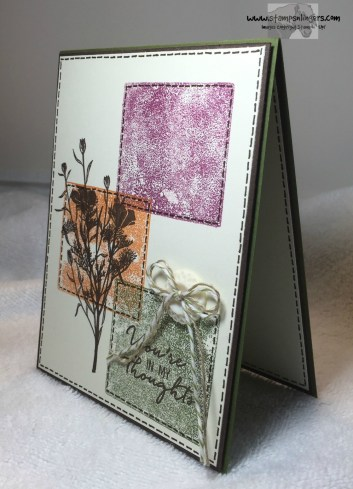 Wild About Flowers Color Blocks 3 - Stamps-N-Lingers