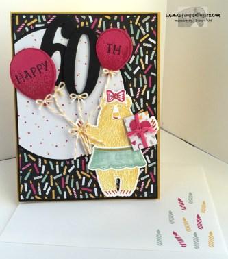 Bear Hugs Birthday Balloons 6 - Stamps-N-Lingers