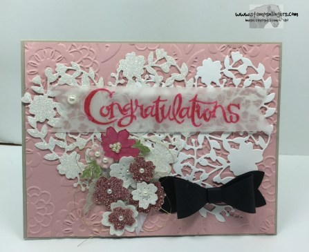 Bloomin' Heart Wedding Congrats 1 - Stamps-N-Lingers