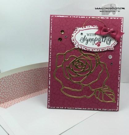 Rose Wonder Sympathy 7 - Stamps-N-Lingers
