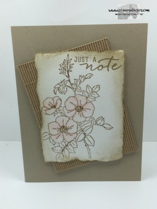 Sweetbriar Rose Just a Note 1 - Stamps-N-Lingers