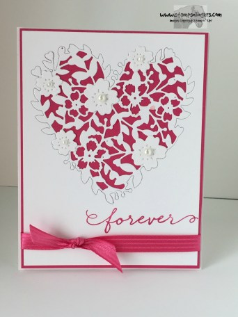 Bloomin' Heart Forever 1 - Stamps-N-Lingers