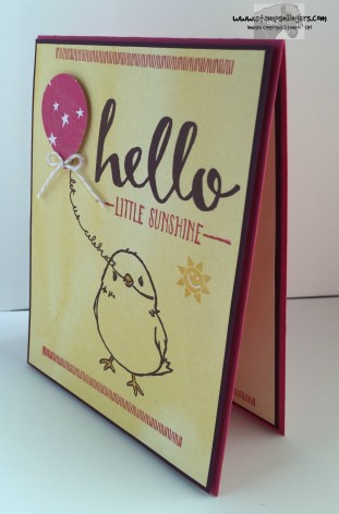 Hello Little Sunshine 3 - Stamps-N-Lingers